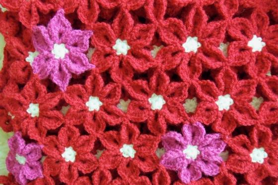 flower blanket Edie Eckman