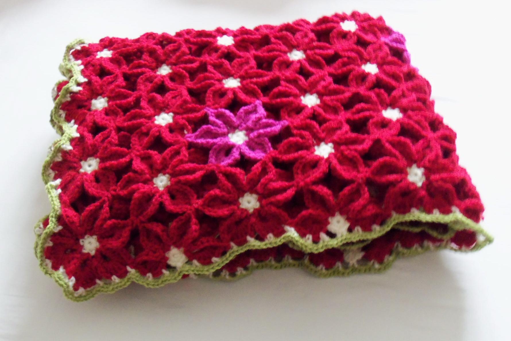 crochet flowers h?kelmonster.com Edie Eckman