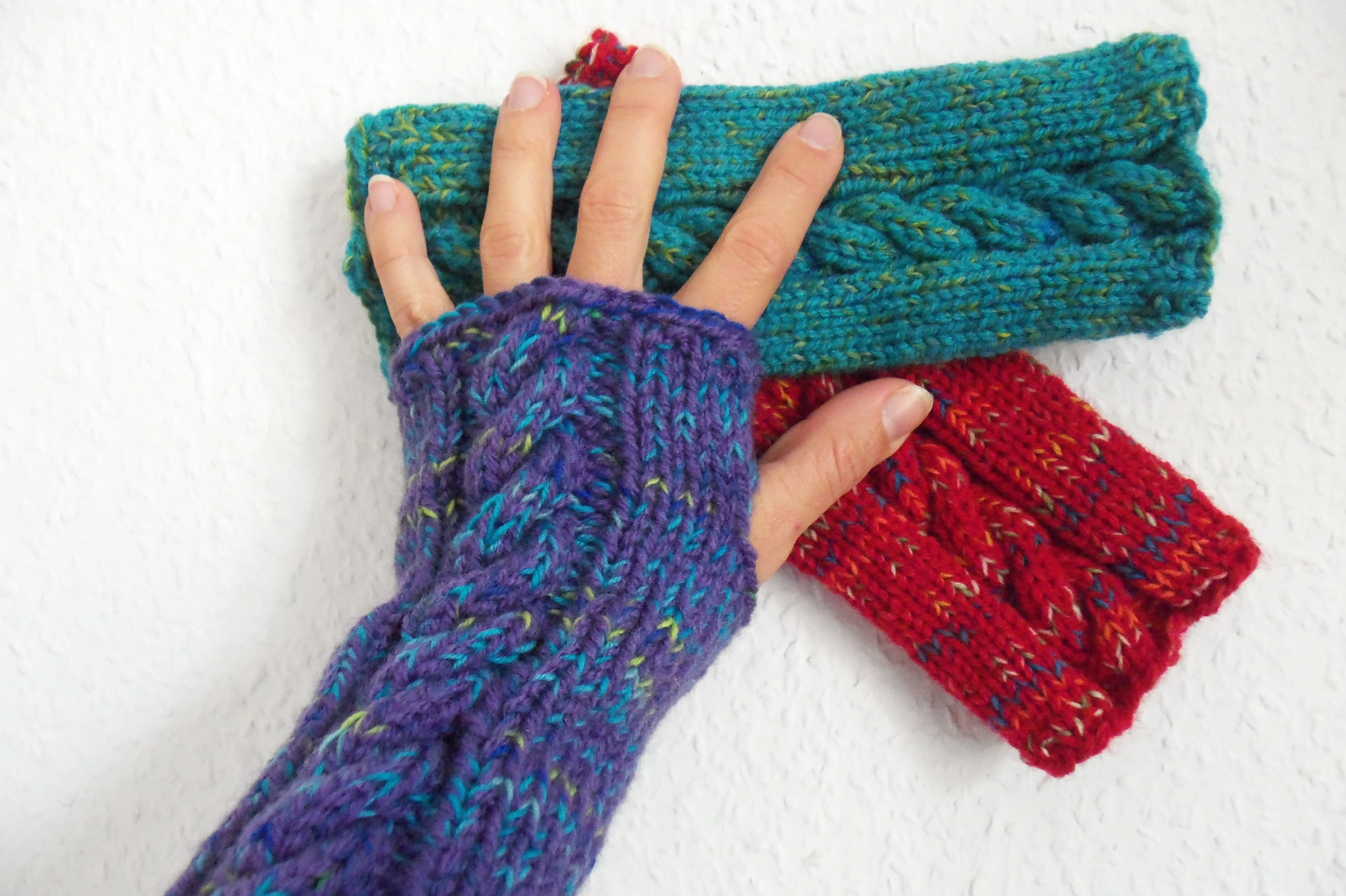 wrist warmers | Häkelmonsterwrist warmers
