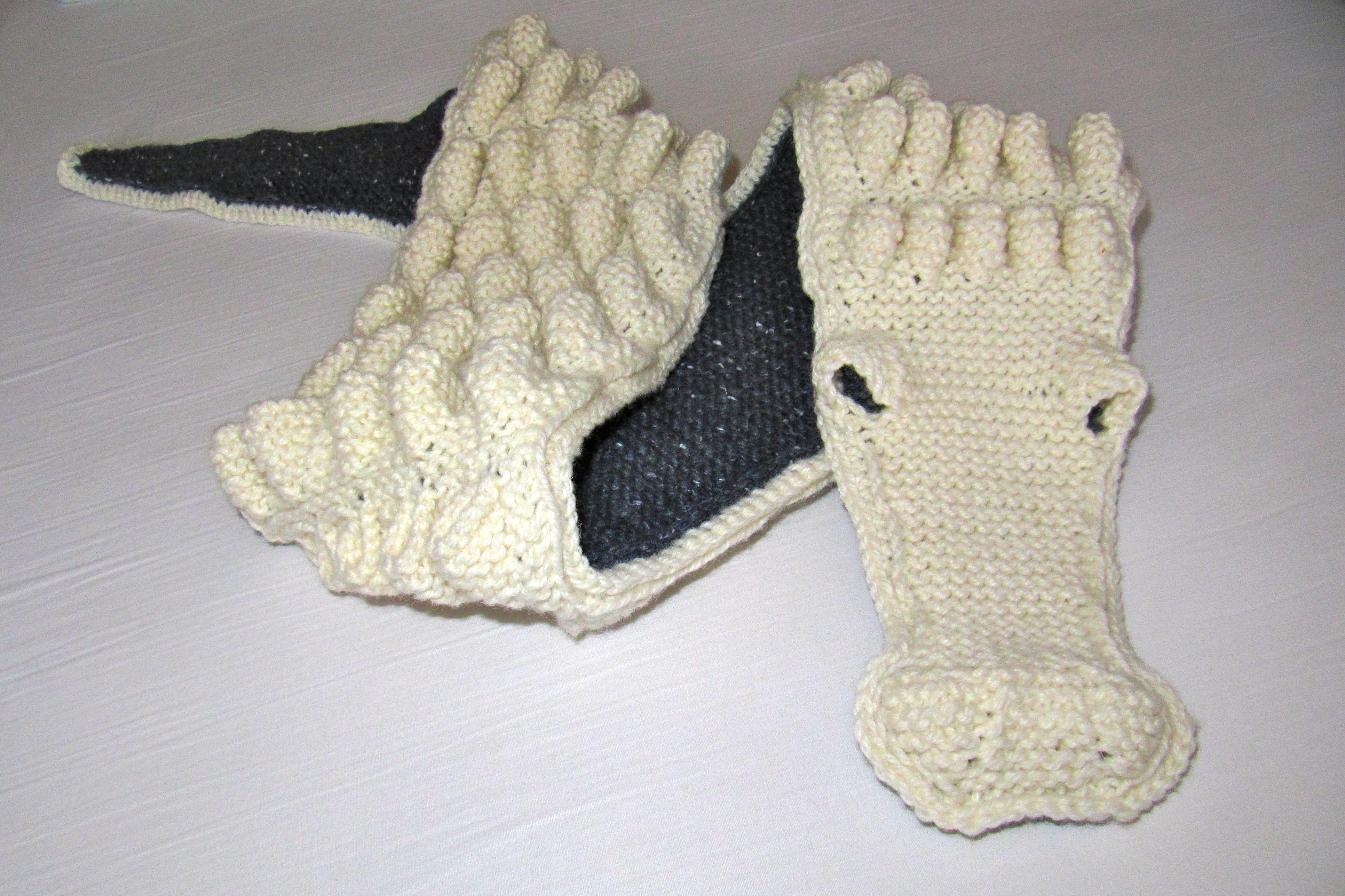 Animal Knitting Patterns : Animal Scarves Hakelmonster