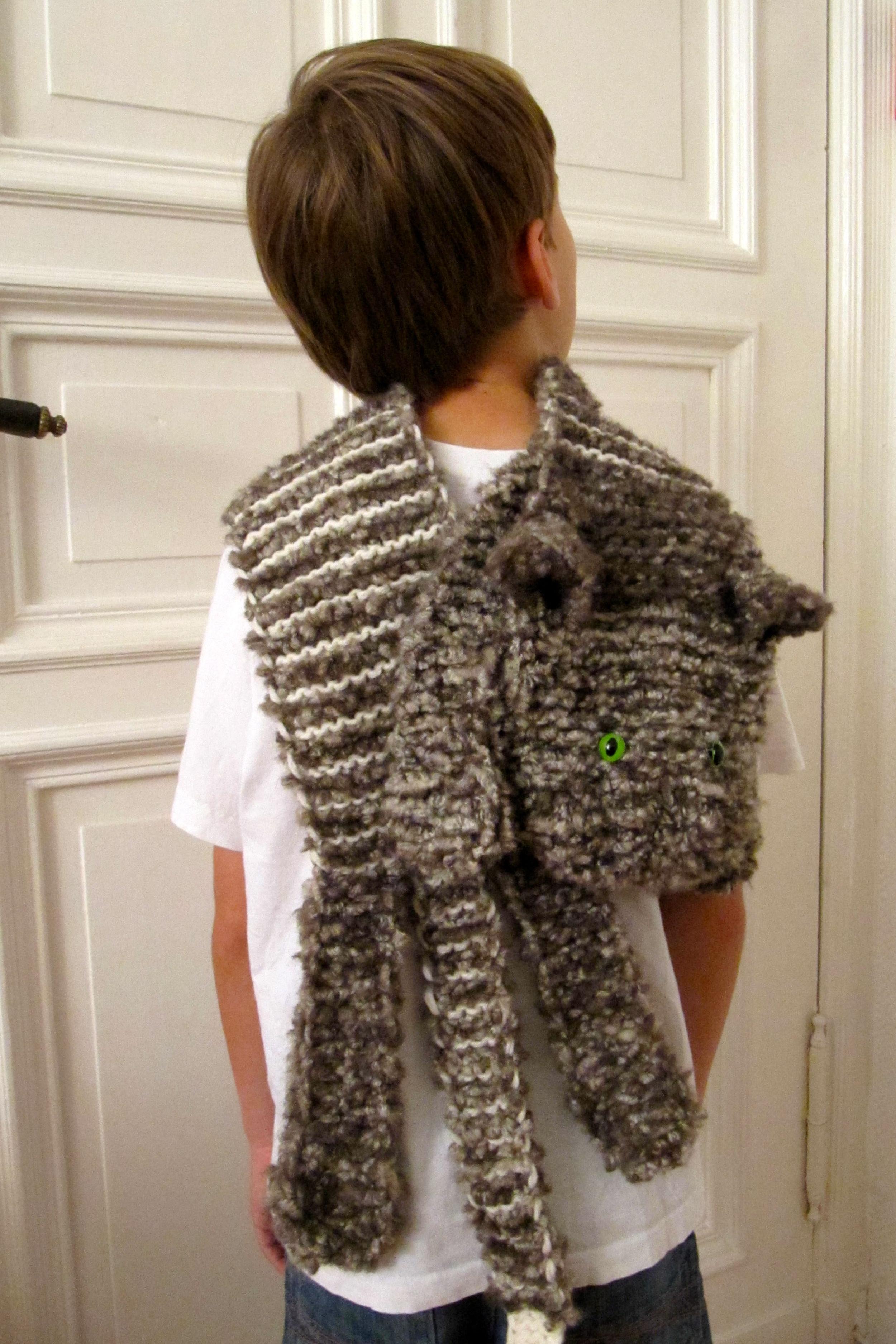knitting pattern Hakelmonster