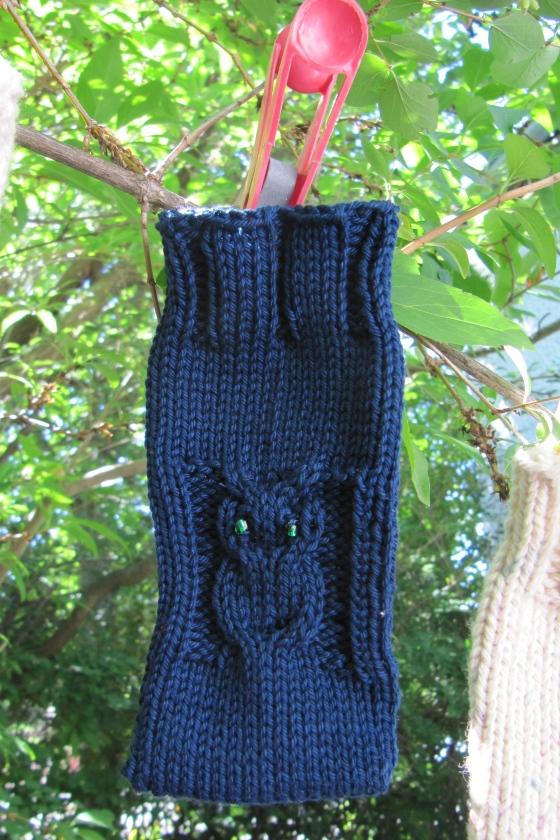 final version in dark blue cotton