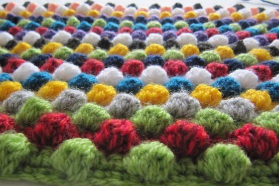 Bobbles blanket