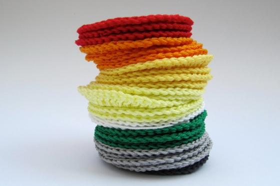 crochet circles granny squares