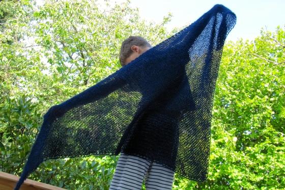 knitting water wrap haekelmonster.com