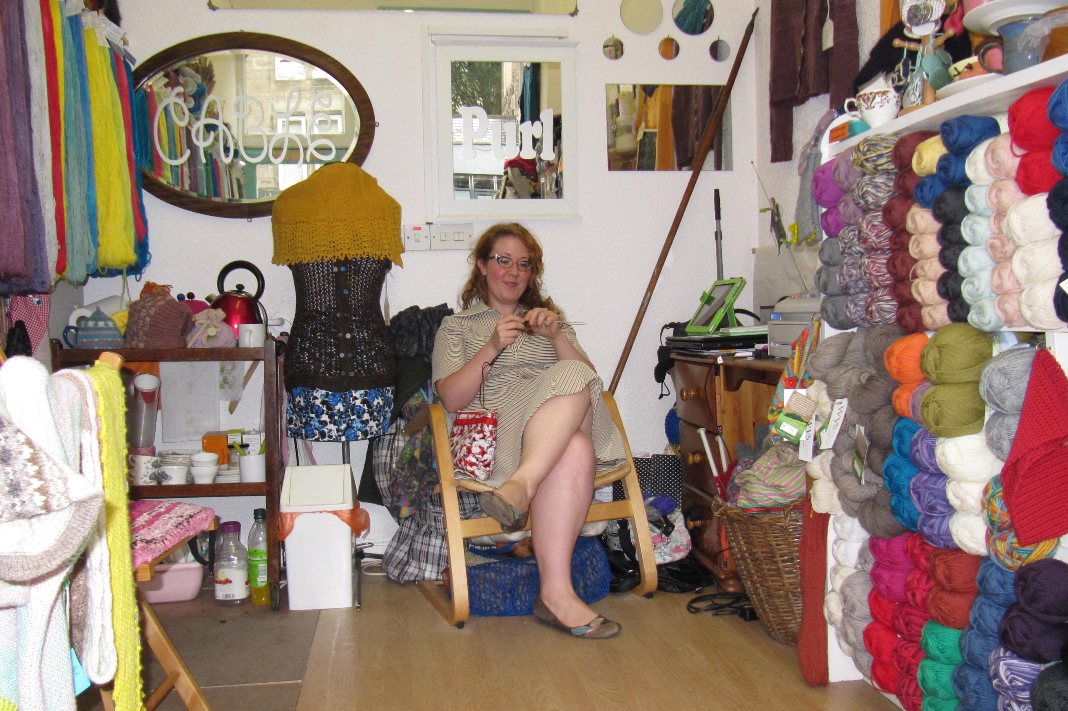 Knitting Groups Edinburgh : Edinburgh h�kelmonster