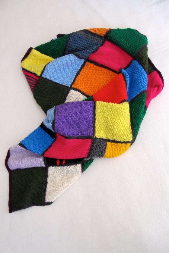 knitted blanket haekelmonster