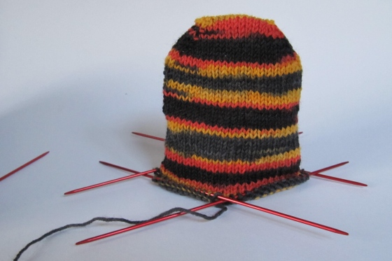 socken stricken häkelmonster