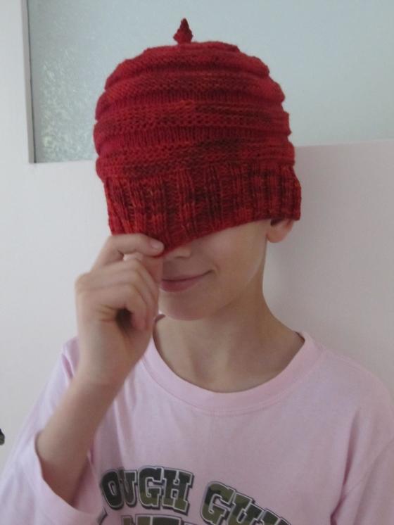 red hat häkelmonster