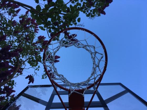 basketball hoop häkelmonster